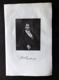 Gallery of Distinguished Americans C1835 Print. William Pinklney